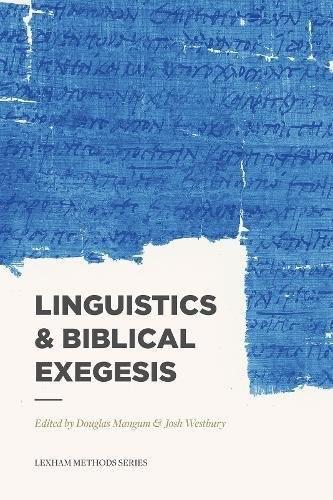 Linguistics and Biblical Exegesis (Paperback)
