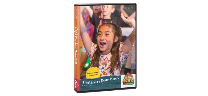 Sing & Play Roar Music DVD (DVD)