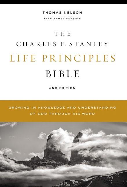 KJV Charles Stanley Life Principles Bible, Comfort Print (Hard Cover)
