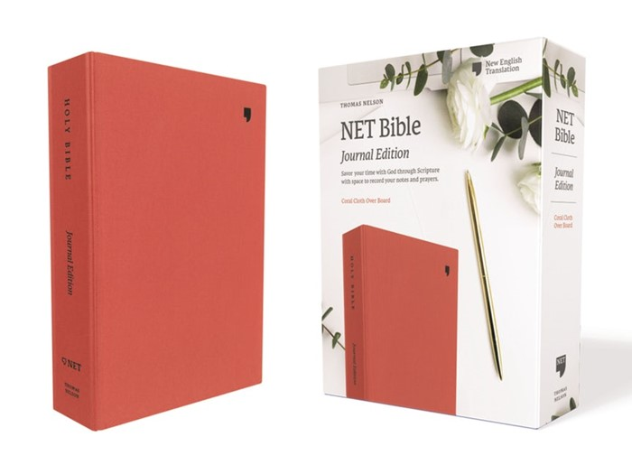 NET Bible, Journal Edition, Coral, Comfort Print (Cloth-Bound)