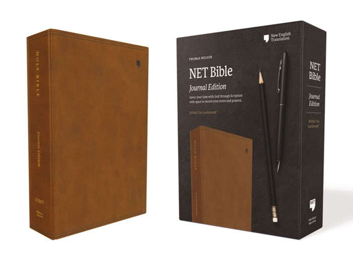 NET Bible, Journal Edition, Brown, Comfort Print (Cloth-Bound)