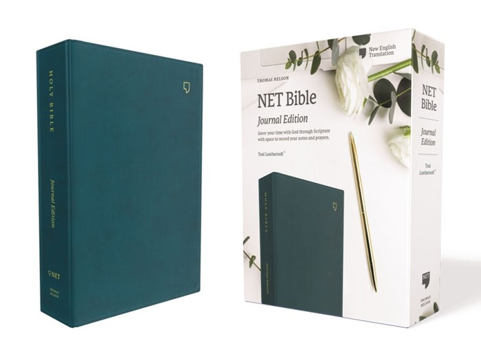 NET Bible, Journal Edition, Teal, Comfort Print (Cloth-Bound)