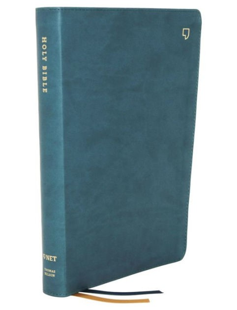 NET Large Print Thinline Bible, Teal (Imitation Leather)