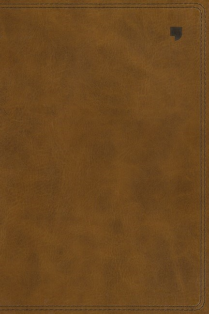 NET Thinline Bible, Brown, Indexed, Comfort Print (Imitation Leather)
