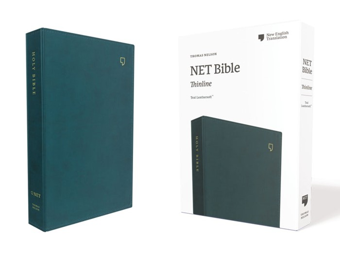 NET Thinline Bible, Teal, Comfort Print (Imitation Leather)