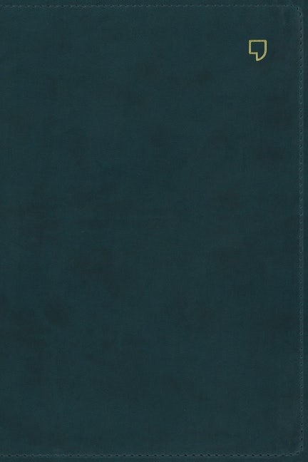 NET Thinline Bible, Teal, Indexed, Comfort Print (Imitation Leather)