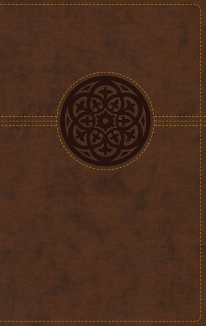 NRSV Thinline Reference Bible, Brown, Indexed (Imitation Leather)