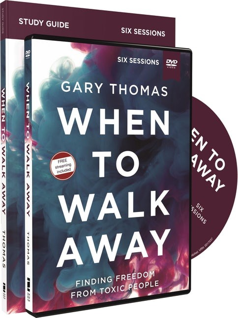 When to Walk Away Study Guide with DVD (Paperback w/DVD)