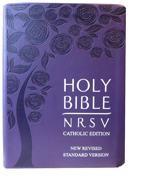 NRSV Catholic Edition, Purple