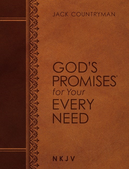 God's Promises for Your Every Need (NKJV, Large Text) (Imitation Leather)