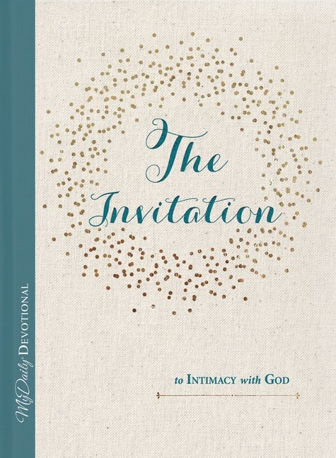 The Invitation to Intimacy with God (Hard Cover)