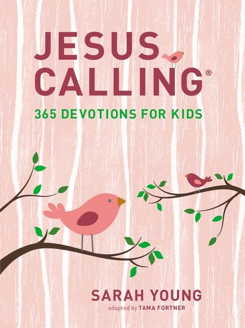 Jesus Calling: 365 Devotions for Kids, Girls Edition (Hard Cover)