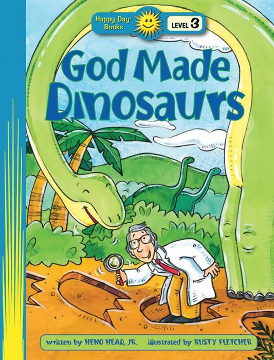 God Made Dinosaurs (Paper Back)