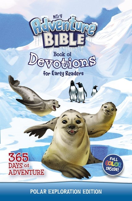 NIrV Adventure Bible Book of Devotions for Early Readers (Hard Cover)