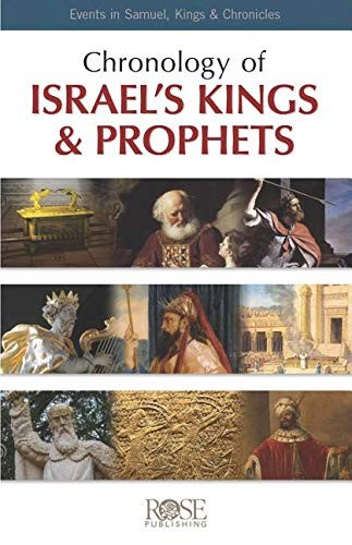 Chronology of Israel's Kings and Prophets (pack of 5) (Pamphlet)