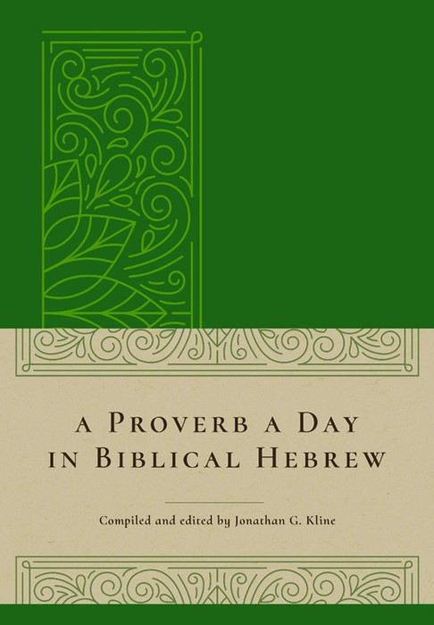 Proverb a Day in Biblical Hebrew, A (Hard Cover)