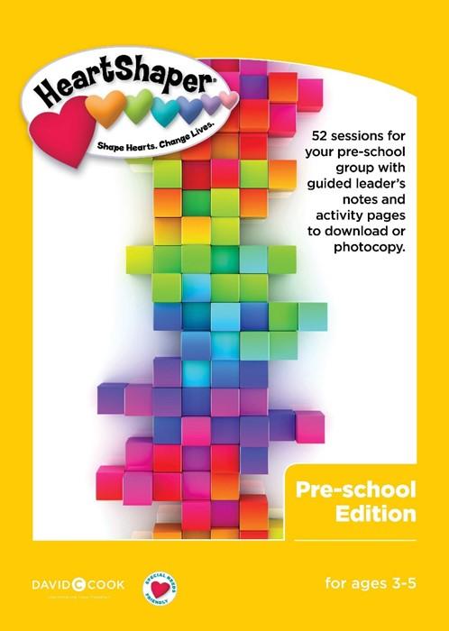 HeartShaper Curriculum: Pre-School Edition (Spiral Bound)
