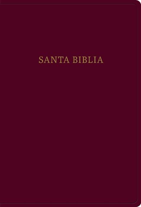 RVR 1960 Biblia letra súper gigante, borgoña imitación piel (Imitation Leather)