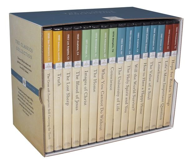 Billy Graham Classic Collction Box Set (16 DVD's) (DVD)