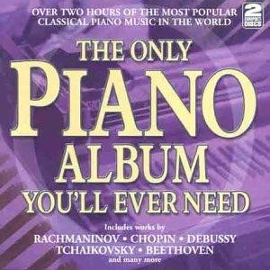 The Only Piano Album You'll Ever Need CD (CD-Audio)