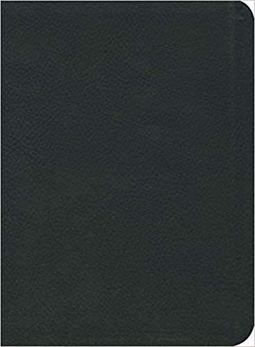 ESV Reformation Study Bible, Black Seville Cowhide (Genuine Leather)