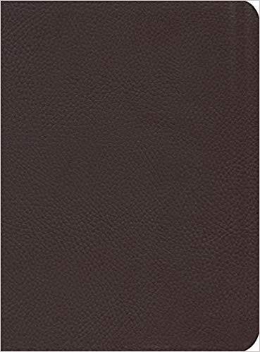 ESV Reformation Study Bible, Burgundy Seville Cowhide (Genuine Leather)