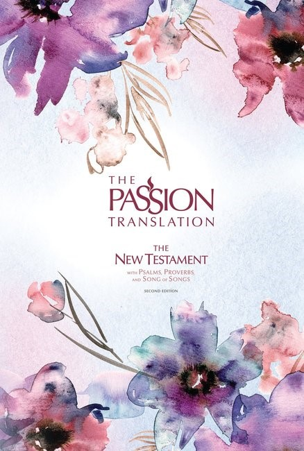 Passion Translation New Testament, Passion in Plum (Hard Cover)