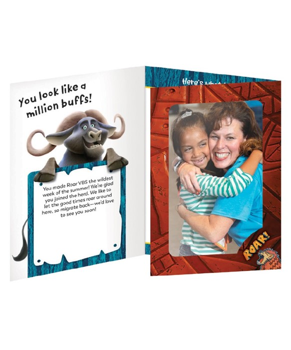 Roar Follow-Up Foto Frames (pack of 10) (General Merchandise)