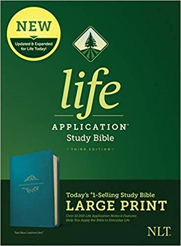 NLT Life Application Study Bible, Third Edition, Large Print (Imitation Leather)