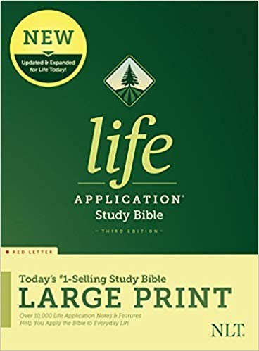 NLT Life Application Study Bible, Third Edition, Large Print (Hard Cover)