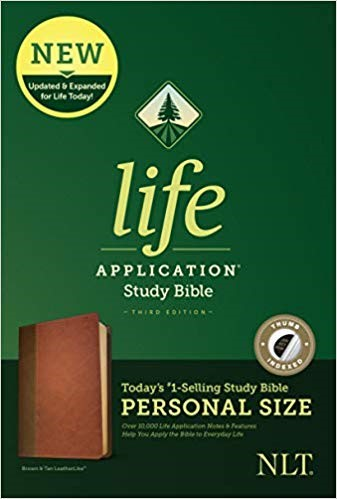 NLT Life Application Study Bible, Third Edition, Personal Si (Imitation Leather)