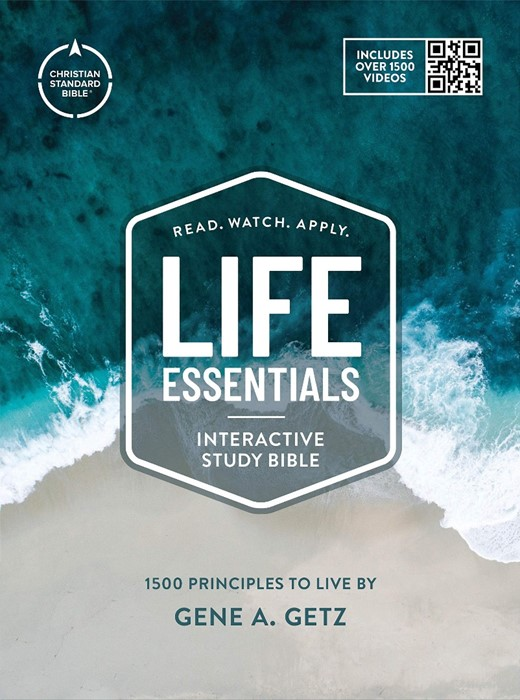 CSB Life Essentials Study Bible, Hardcover w/Jacket (Hard Cover)
