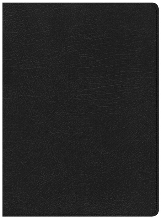 CSB Life Essentials Study Bible, Black Genuine Leather (Genuine Leather)