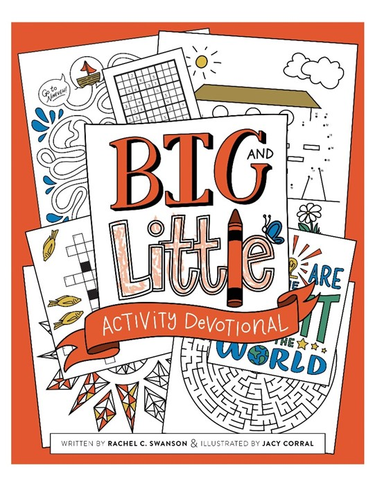 Big and Little Activity Devotional (Paperback)