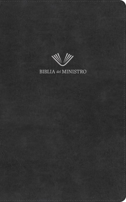 RVR 1960 Biblia del ministro, negro piel fabricada (Imitation Leather)