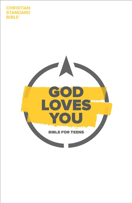 CSB God Loves You Bible for Teens (Paperback)