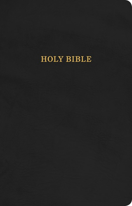 KJV Gift and Award Bible, Black Imitation Leather (Imitation Leather)
