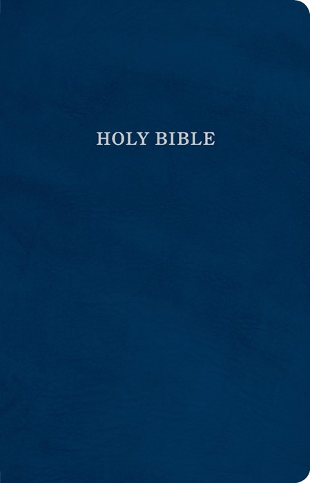 KJV Gift and Award Bible, Blue Imitation Leather