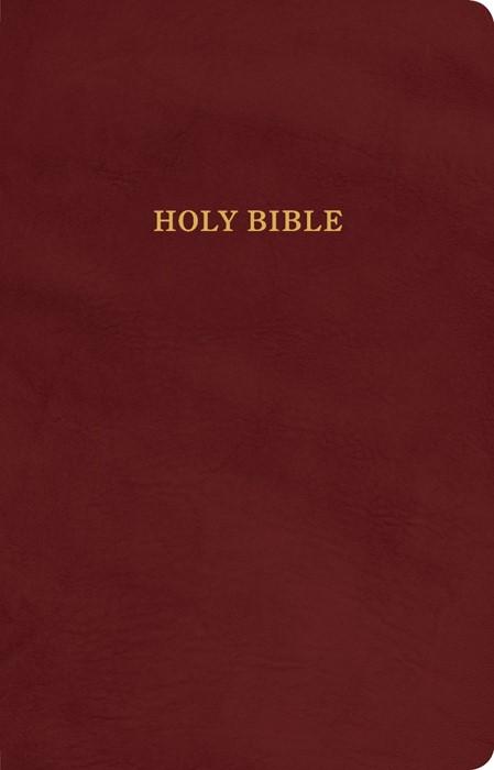 KJV Gift and Award Bible, Burgundy Imitation Leather (Imitation Leather)