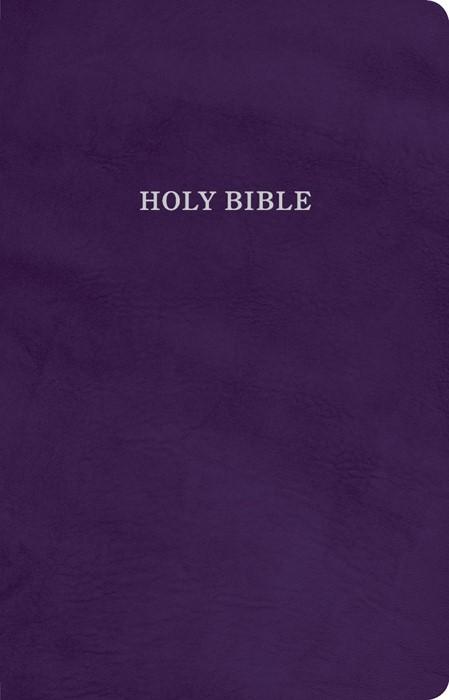 KJV Gift and Award Bible, Purple Imitation Leather