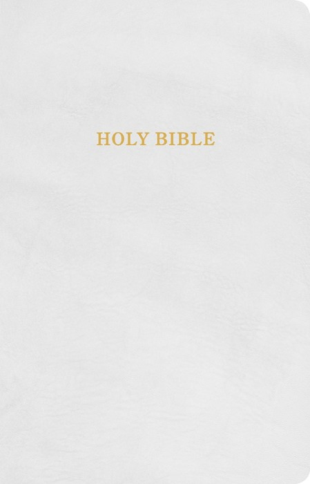 KJV Gift and Award Bible, White Imitation Leather (Imitation Leather)
