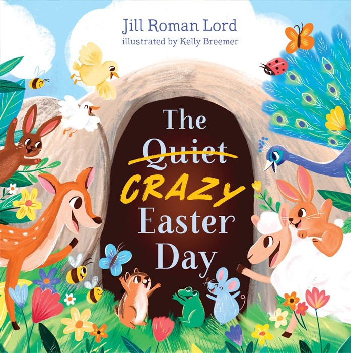 The Quiet/Crazy Easter Day (padded) (Board Book)