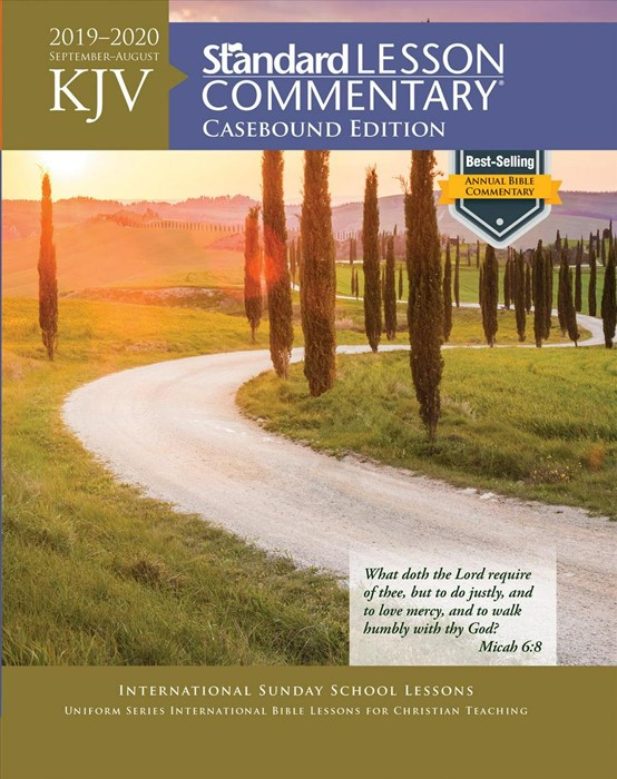 KJV Standard Lesson Commentary 2019-2020, Hardcover (Hard Cover)