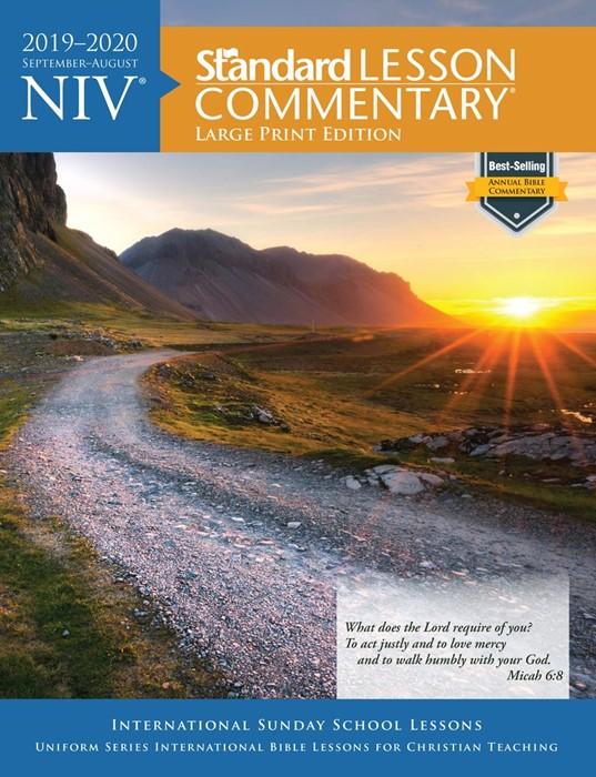NIV Standard Lesson Commentary 2019-2020, Large Print Ed. (Paperback)