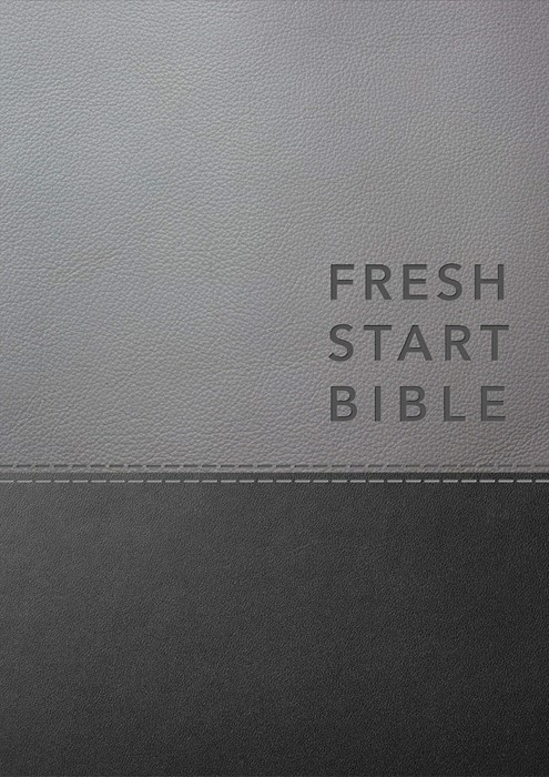 NLT Fresh Start Bible, Deluxe (Imitation Leather)
