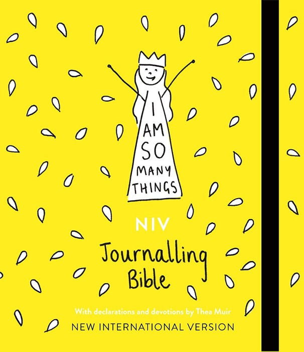 I Am So Many Things NIV Journalling Bible (Hard Cover)