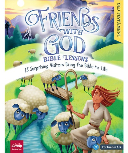 Friends With God Bible Lessons (Old Testament) (Paperback/CD Rom)