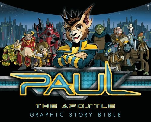 Paul The Apostle Graphic Story Bible (Hard Cover)