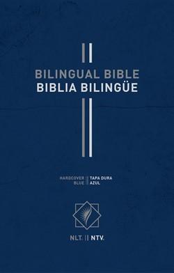 Bilingual Bible / Biblia Bilingue NLT/NTV (Hard Cover)
