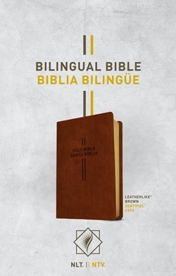 Bilingual Bible / Biblia Bilingue NLT/NTV (Imitation Leather)